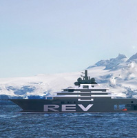 Norwegian billionaire has ordered a high-tech yacht  named  R.E.V. – Research Expedition Vessel