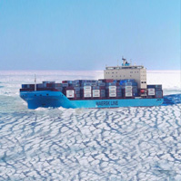 Maersk launches first container ship through Arctic route in alarming sign of global warming